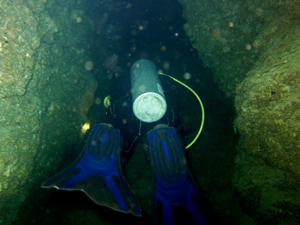 Denea Solomons cave diving 3