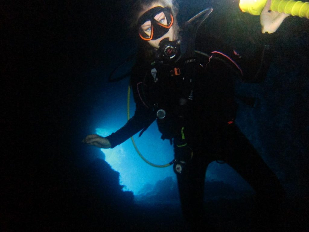 Denea Solomons cave diving 4