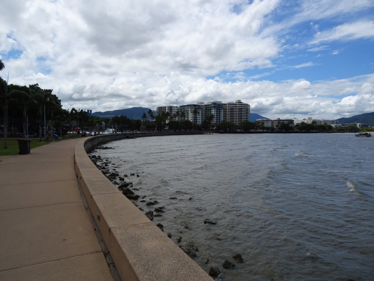 View of the Cairns waterfront