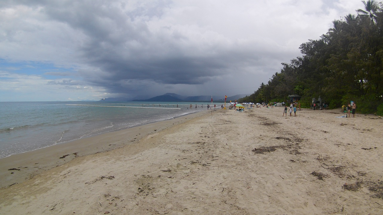 4 Mile Beach in Port Douglas