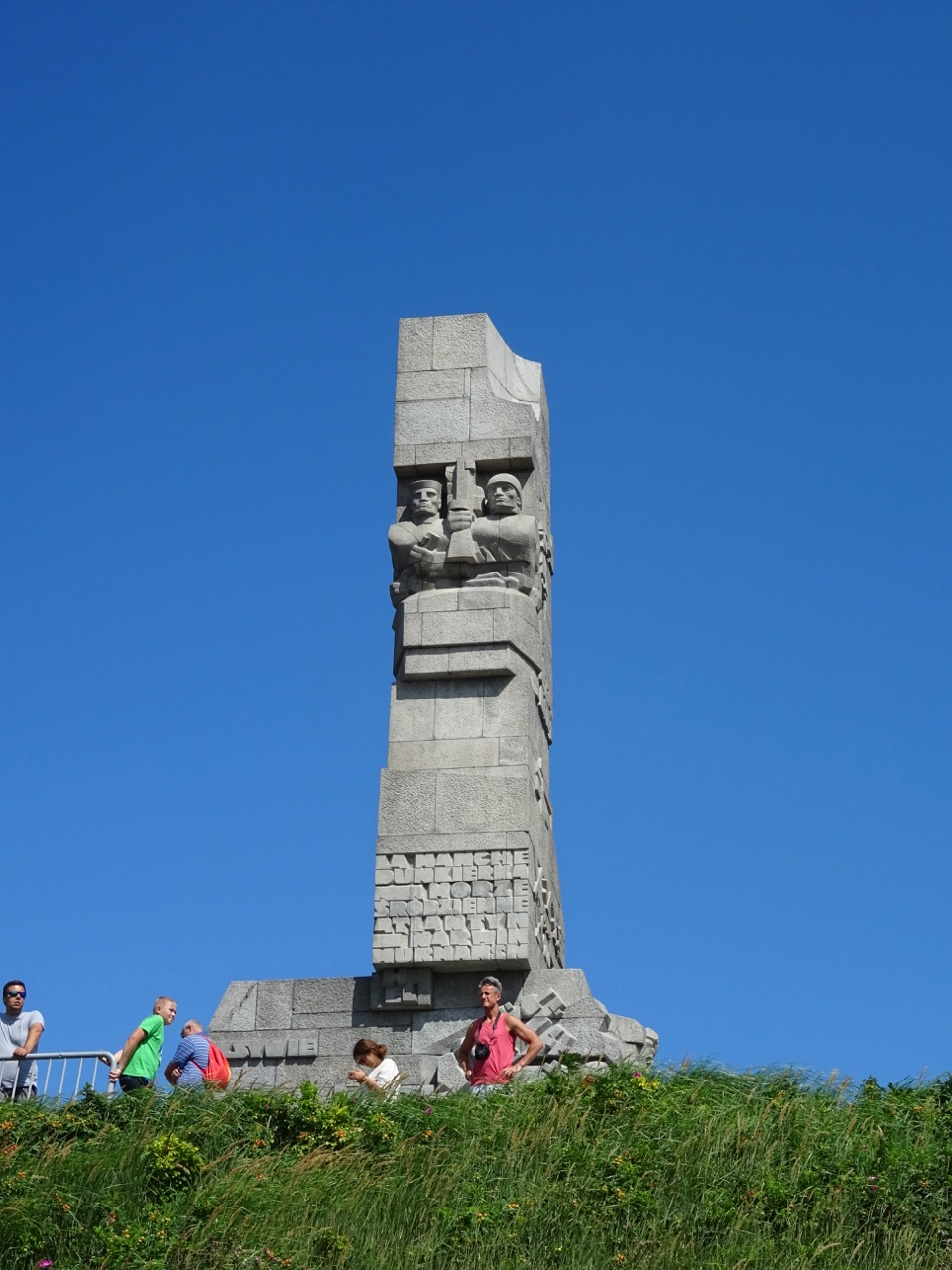 The memorial at Westerplatte, just outside of Gdansk