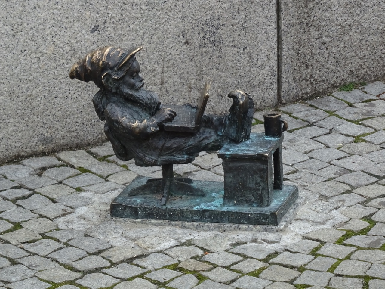 One of the 300+ gnomes in Wroclaw