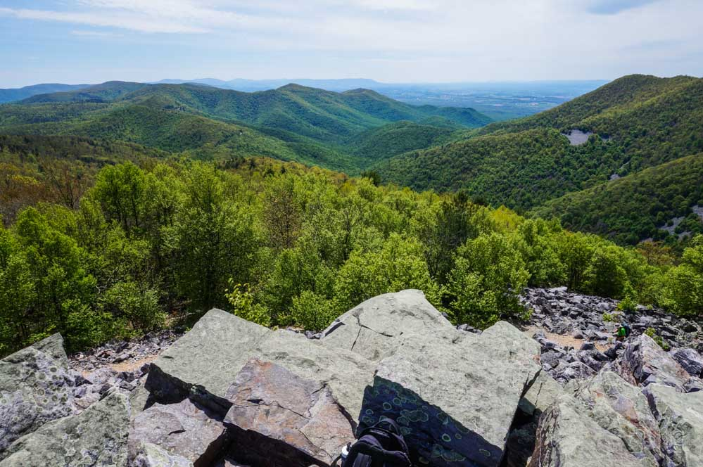 View from Blackrock Summit, Shenandoah National Park