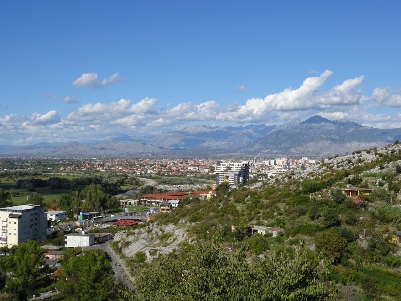Views around Shkoder